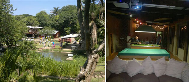 river valley resort, camping sites pennington, self catering, accommodation pennington, pennington river activities, kwazulu-natal beach accommodation